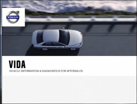 Каталог запчастей и информация по ремонту Вольво - Volvo VIDA 2012A