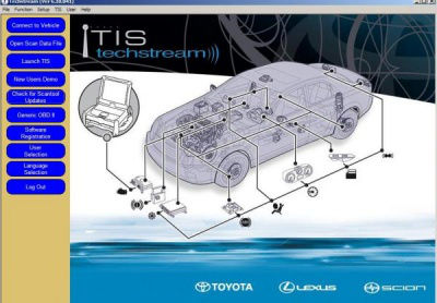 Toyota Techstream 9.10.037