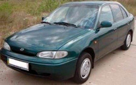 Руководство по ремонту и обслуживанию автомобиля Hyundai ACCENT (1994-1998)