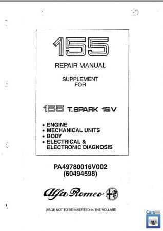 Руководство по ремонту Alfa Romeo 155