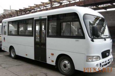 Hyundai Сounty. Руководство по ремонту автобуса